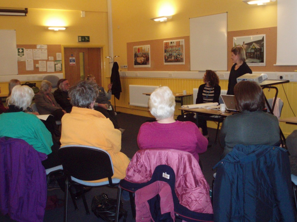 Carers session in Wimborne