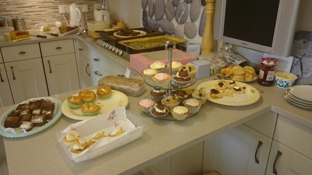 An afternoon tea during ME awareness week